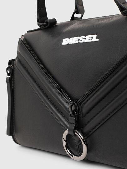 Diesel - LE-ZIPPER SATCHEL, Negro - Maletines y Bolsos De Mano - Image 5