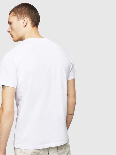 Diesel - T-DIEGO-A4, Blanco - Camisetas - Image 2