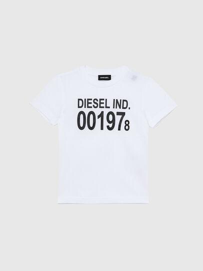 Diesel - TDIEGO001978B-R, Blanco/Negro - Camisetas y Tops - Image 1