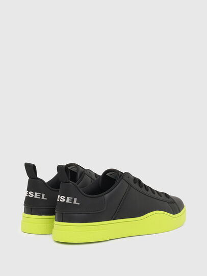Diesel - S-CLEVER LOW LACE, Negro/Amarillo - Sneakers - Image 3