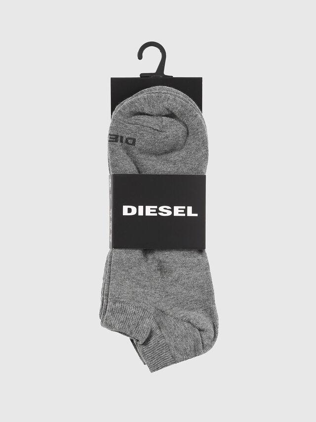 Diesel - SKM-GOST-THREEPACK, Gris - Calcetines cortos - Image 2