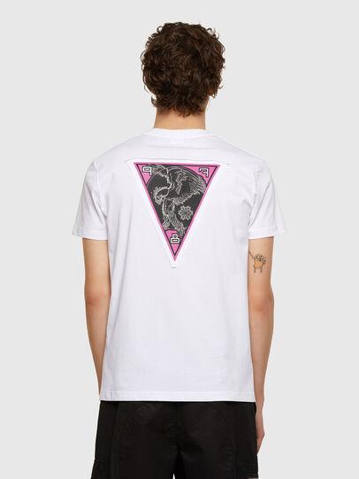 Diesel - T-DIEBIND-E1, Blanco - Camisetas - Image 2