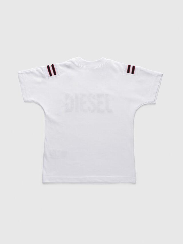 Diesel - TRYLLB-R, Blanco - Camisetas y Tops - Image 2