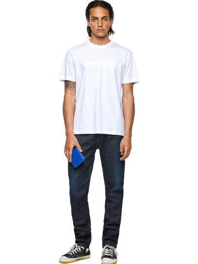 Diesel - T-JUST-B63, Blanco - Camisetas - Image 4