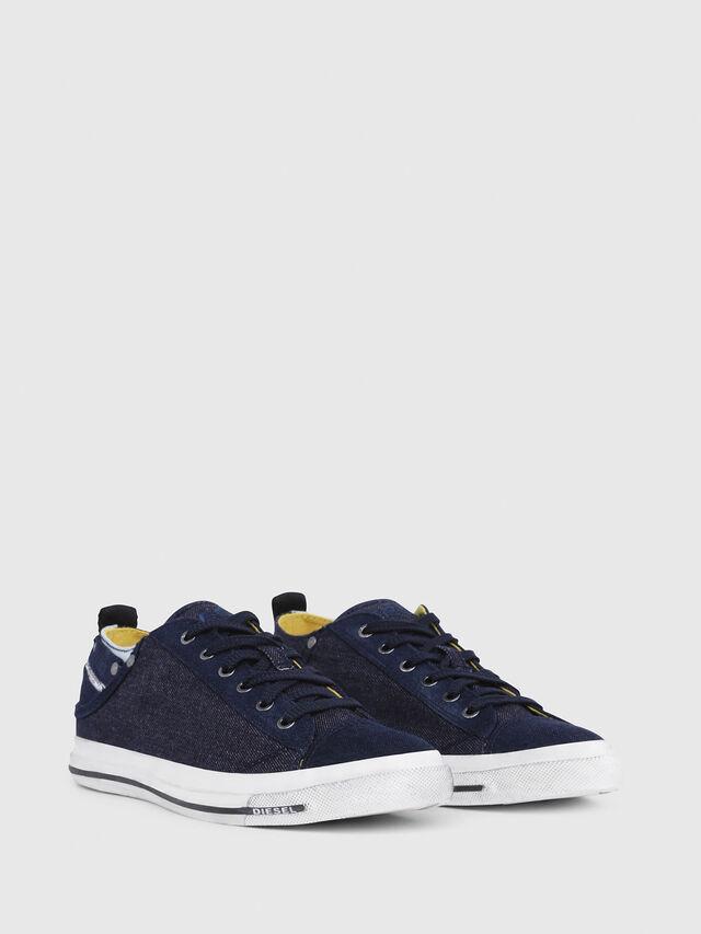 Diesel - EXPOSURE LOW I, Azul Oscuro - Sneakers - Image 2