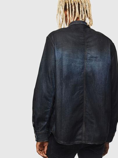 Diesel - D-BANDY-B, Azul Oscuro - Camisas de Denim - Image 2