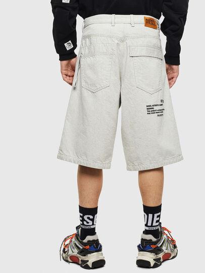 Diesel - D-RON, Blanco - Shorts - Image 2