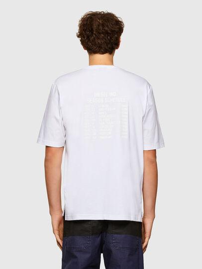 Diesel - T-GORAN-A1, Blanco - Camisetas - Image 2