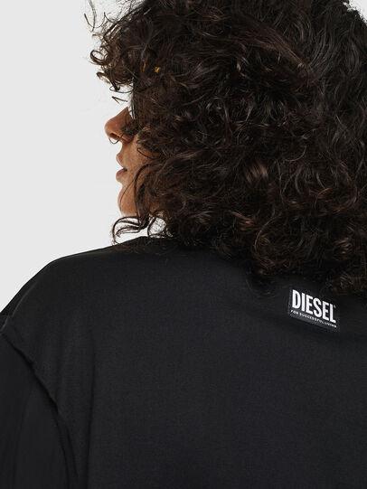 Diesel - T-MENOX, Negro - Tops - Image 5
