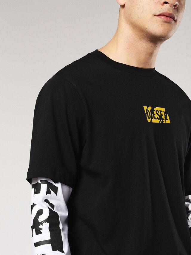 T-SHOOT-SA, Negro