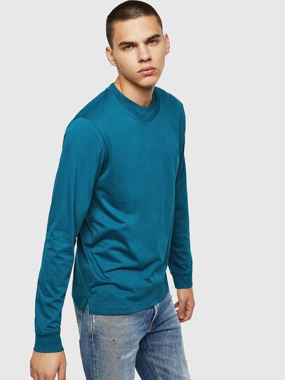 Diesel - T-LERMON, Azul Marino - Camisetas - Image 4