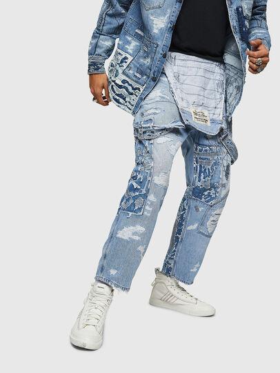Diesel - D-HARU-SY, Blue Jeans - Monos - Image 4