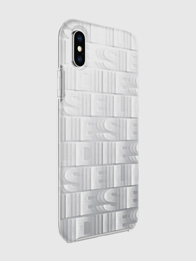Diesel - DIESEL PRINTED CO-MOLD CASE FOR IPHONE XS & IPHONE X, Blanco - Fundas - Image 6