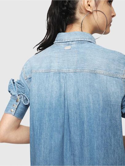 Diesel - DE-BLANCHE, Blue Jeans - Vestidos - Image 4