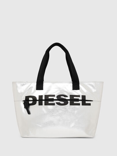 Diesel - F-BOLD SHOPPER II, Plata - Bolsos Shopper y Al Hombro - Image 1
