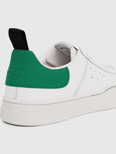 Diesel - S-CLEVER LOW, Blanco/Verde - Sneakers - Image 4