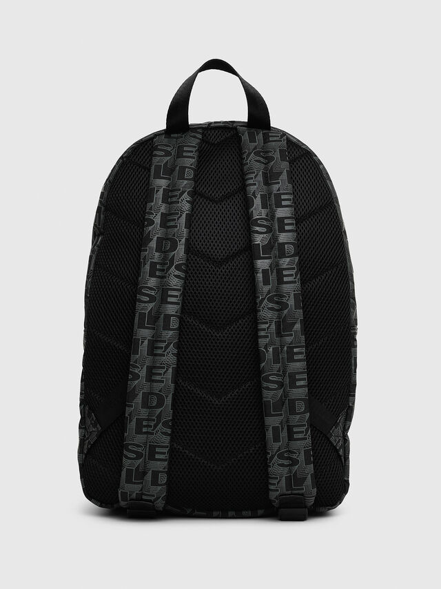 Diesel - F-DISCOVER BACK, Negro/Gris - Mochilas - Image 2