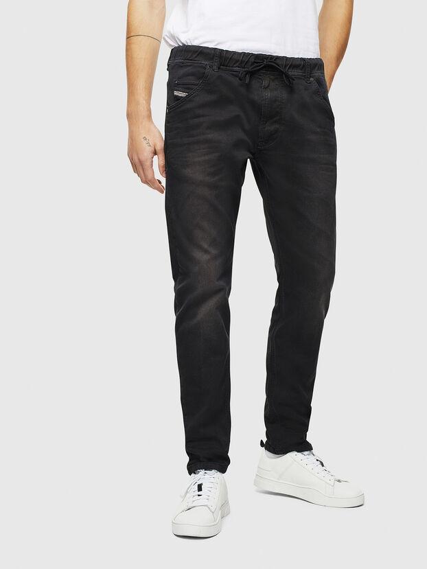 Krooley JoggJeans 0670M, Black Jeans - Vaqueros