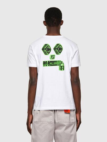 Diesel - T-DIEGOS-B4, Blanco - Camisetas - Image 2