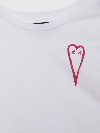 Diesel - TSILYHEARTS, Blanco - Camisetas y Tops - Image 3