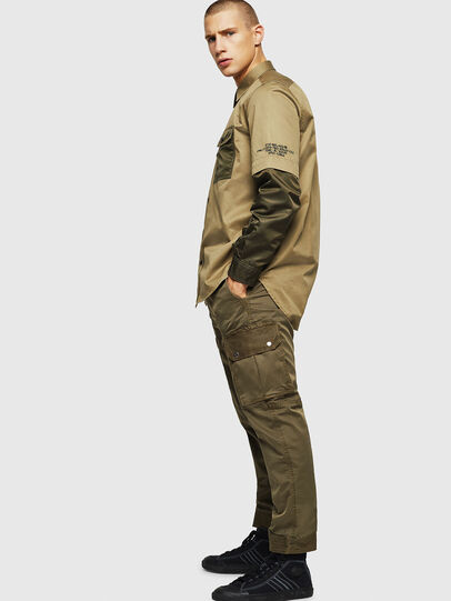Diesel - P-PHANTOSKY, Verde Militar - Pantalones - Image 5