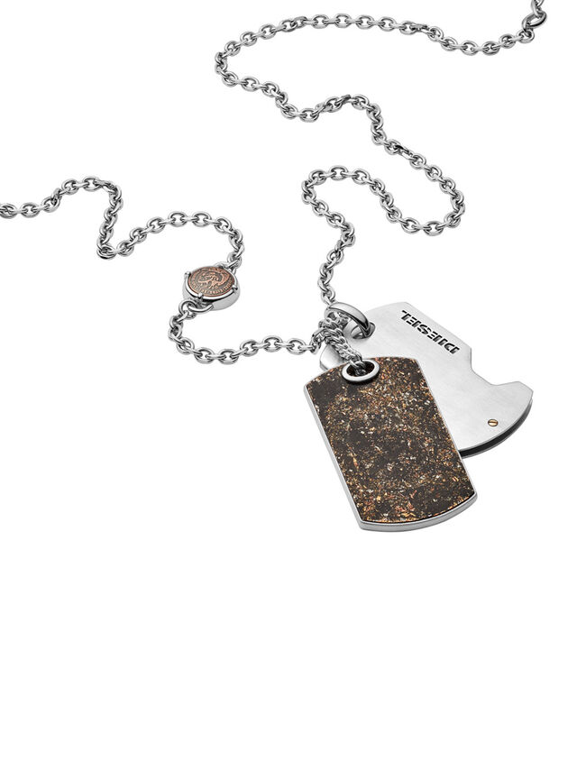 Diesel NECKLACE DX1079, Bronce - Collares - Image 2