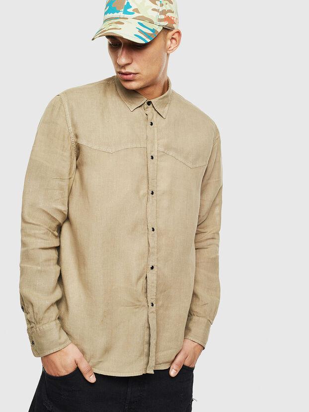 S-PLAN-B, Beige - Camisas