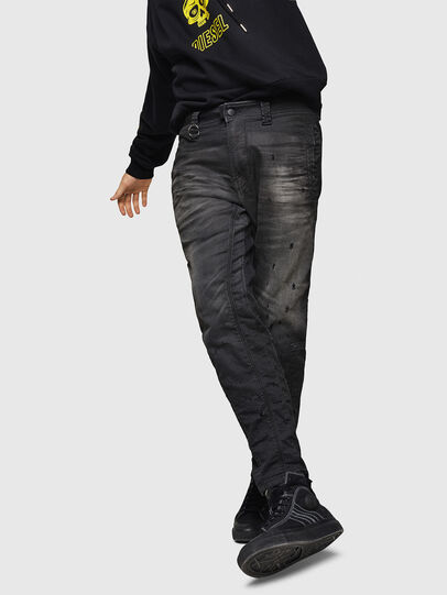 Diesel - D-Earby JoggJeans 069GN, Negro/Gris oscuro - Vaqueros - Image 4