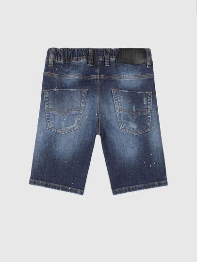 Diesel - KROOLEY-NE-J SH, Azul Oscuro - Shorts - Image 2