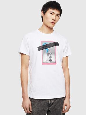 T-DIEGO-S8, Blanco - Camisetas