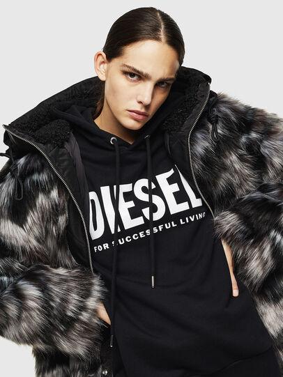 Diesel - L-ALYA, Negro - Chaquetas de piel - Image 4