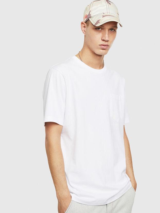T-JUST-POCKET-T17, Blanco - Camisetas