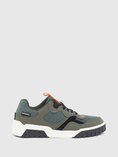 Diesel - S-RUA LOW SK, Verde Oliva - Sneakers - Image 1