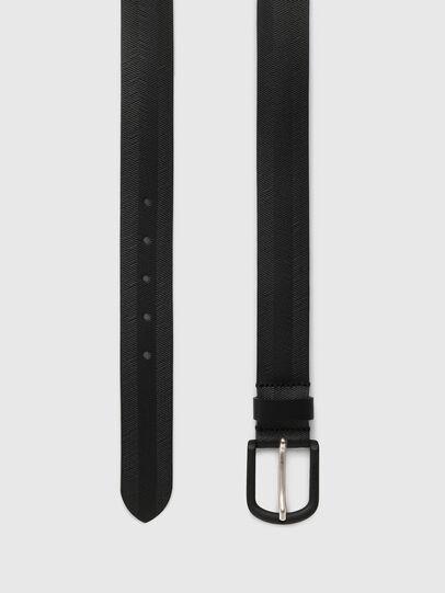 Diesel - B-SPIGA, Negro - Cinturones - Image 3