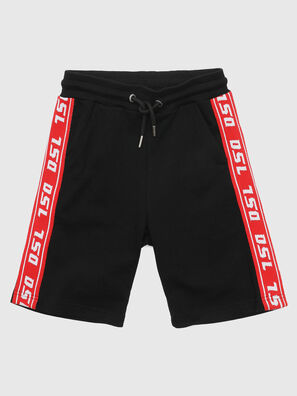 PHITOSHI, Negro/ Rojo - Shorts