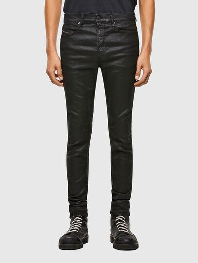 Diesel - D-Reeft JoggJeans® 069TE, Negro/Gris oscuro - Vaqueros - Image 1