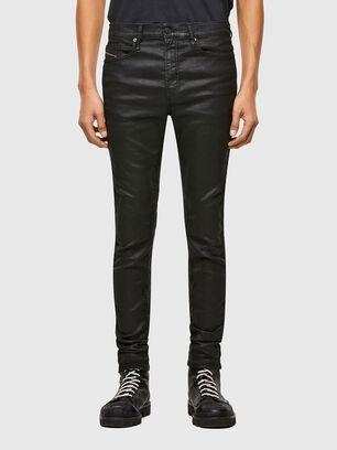 D-Reeft JoggJeans 069TE, Negro/Gris oscuro - Vaqueros