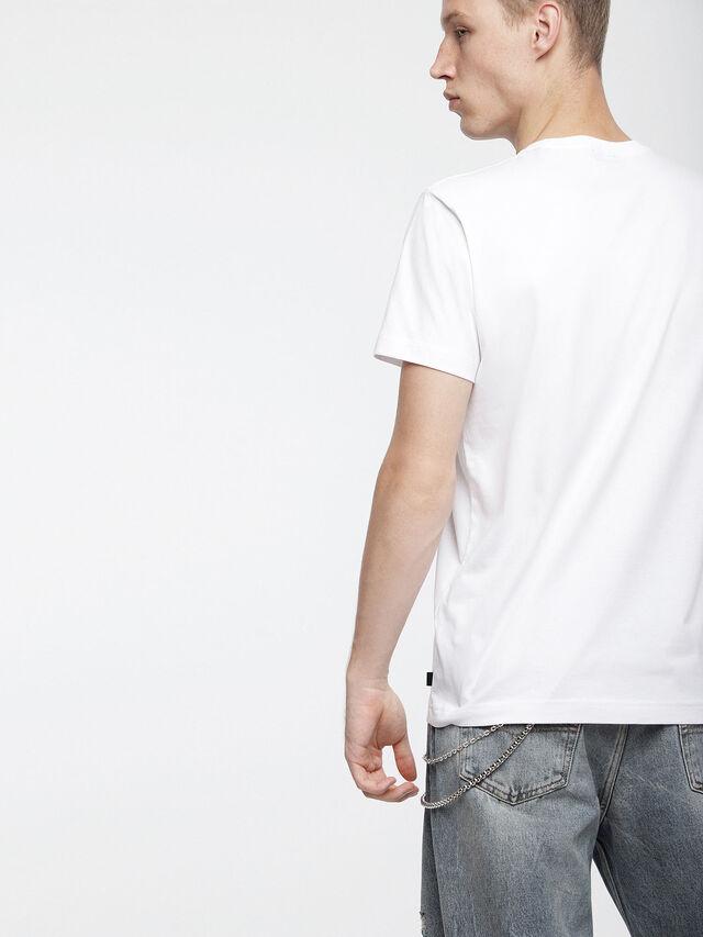 Diesel - T-DIEGO-XC, Blanco - Camisetas - Image 2