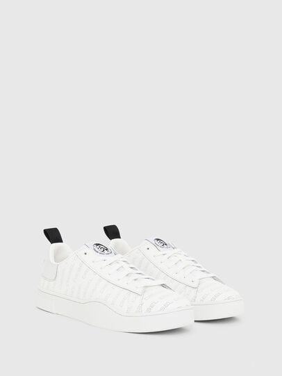 Diesel - S-CLEVER LOW LACE, Blanco/Plateado - Sneakers - Image 2