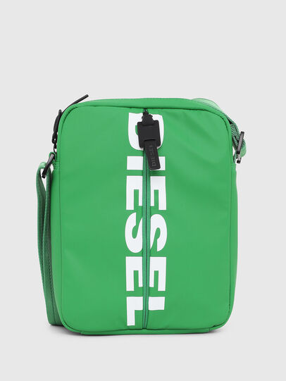 Diesel - F-BOLD SMALL CROSS, Verde - Bolso cruzados - Image 1