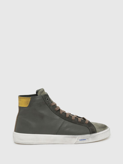 Diesel - S-MYDORI MC, Verde Militar - Sneakers - Image 1