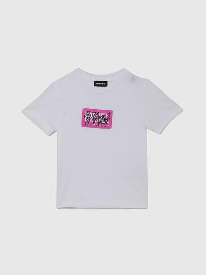 Diesel - TJUSTX62B-R, Blanco - Camisetas y Tops - Image 1
