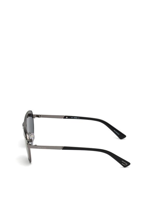Diesel - DL0261, Negro/Gris - Gafas de sol - Image 3