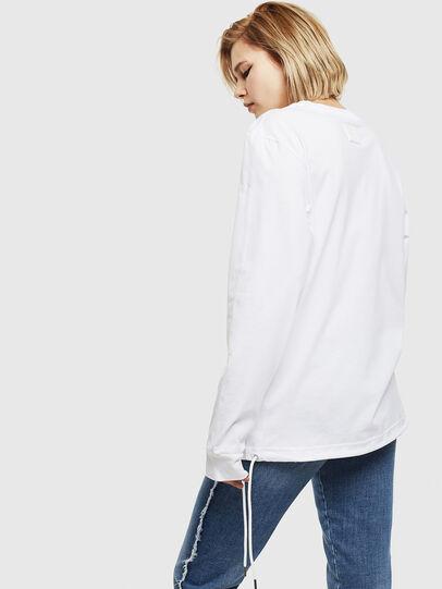 Diesel - T-HUSTY-LS, Blanco - Camisetas - Image 4