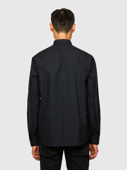 Diesel - S-OLSEN, Negro - Camisas - Image 2