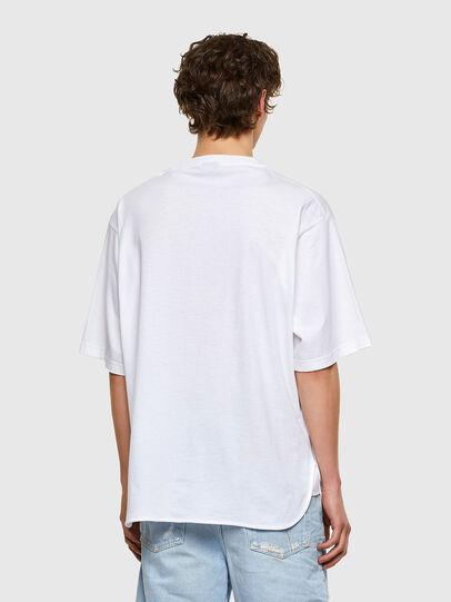 Diesel - T-DELPHONE, Blanco - Camisetas - Image 2