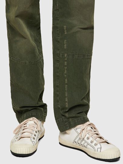 Diesel - D-Azerr JoggJeans® 069WH, Verde Militar - Vaqueros - Image 4