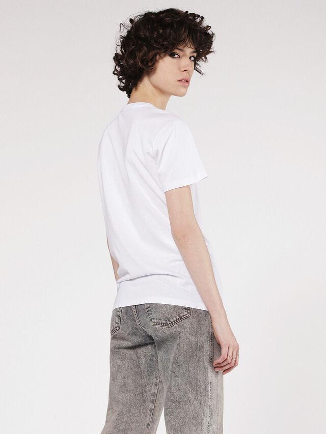 Diesel - T-EXPLO, Blanco - Camisetas - Image 2