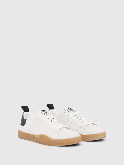 Diesel - S-CLEVER PAR LOW, Blanco/Negro - Sneakers - Image 2