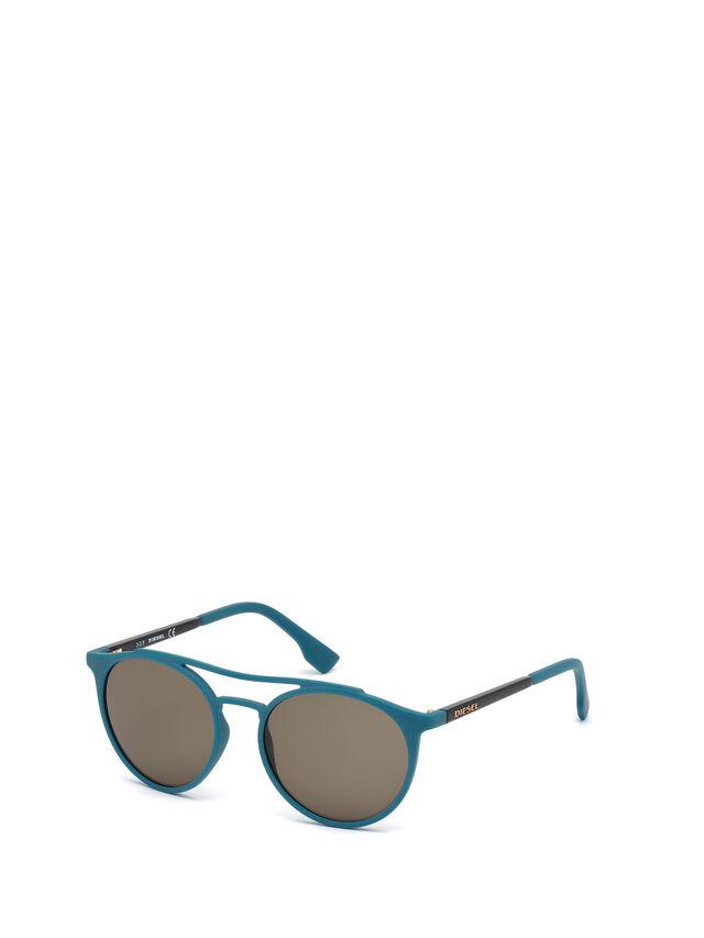 Diesel - DM0195, Azul - Gafas de sol - Image 4